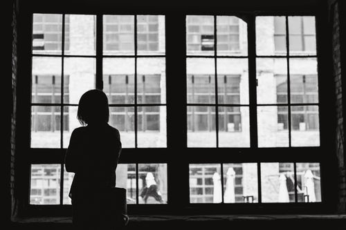 Women at window - Depression Types